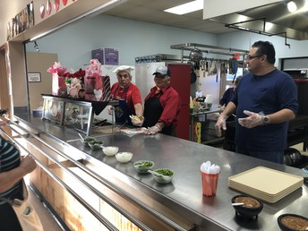 Parents and Grandparents Sell Tacos to bring us together and support our school!