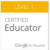 Google Certified Educator Level 1