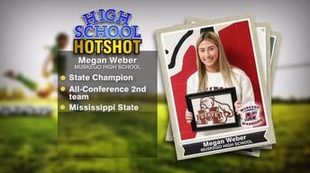 Congratulations Megan!