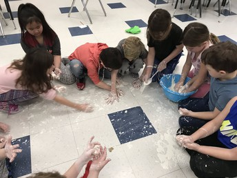 "Making ""Oobleck"" in 2B!"