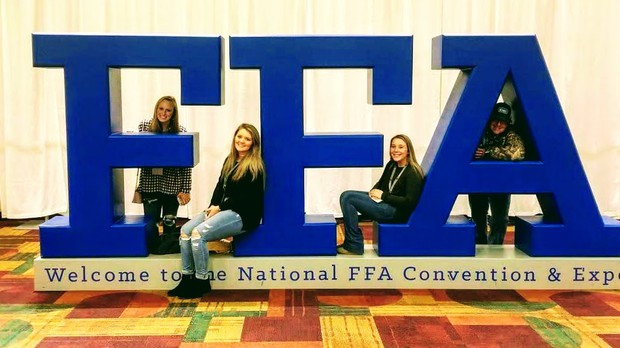 National FFA Convention attendees for Southeast Bulloch High School