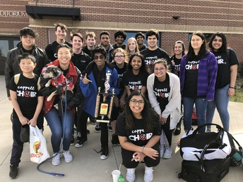 Madrigals Compete in San Antonio