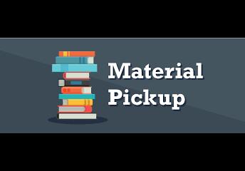Feb. 10 & 11 -  Material Distribution