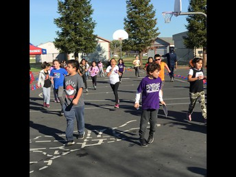 2nd Graders on the Run!