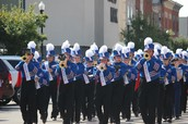 Moberly High School Marching Band