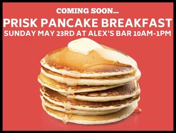 PANCAKE BREAKFAST IS COMING!!!