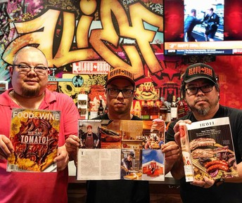 Blood Bros. BBQ was recently featured in national culinary magazines.