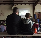 at this year's first Movie Night!