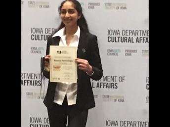 Sixteen Franklin Students Compete in Iowa State National History Day