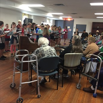 Choir Sings for The Caring Place