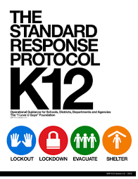 Image of standard response protocol booklet