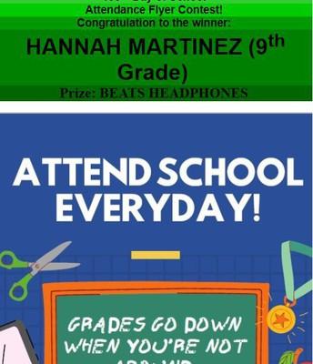 Congrats to Hannah Martinez!