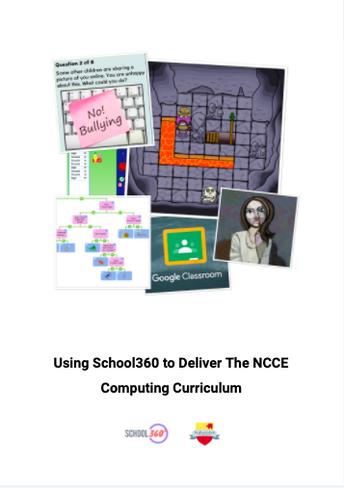 New Computing Scheme of Work - NCCE