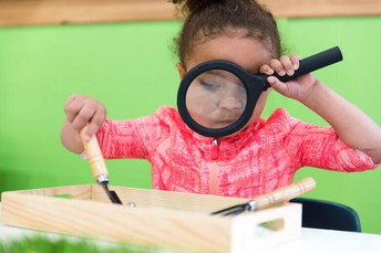 Explore Science all July at Planet Play!