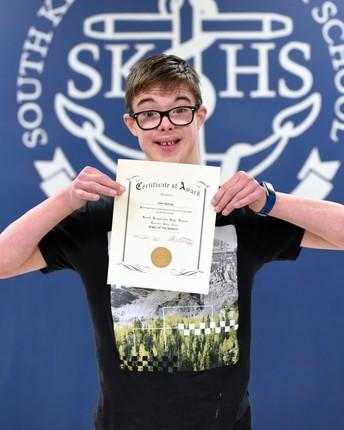 John Ashing- Grade 10