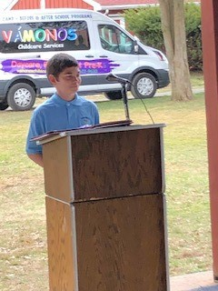 Tamanend Students Featured at Lions Pride Park Dedication
