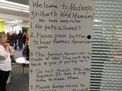 Madame Brillhart's Wax Museum!