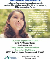 DACA Informational Forum