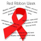 Red Ribbon Week Oct. 23 - 27