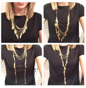 Garland Fringe Necklace