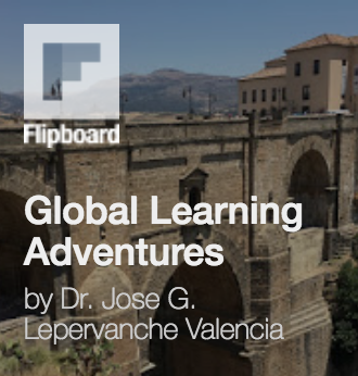 Global Learning Adventures via Flipboard