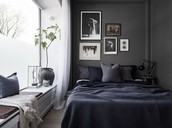 Darker Bedroom Design