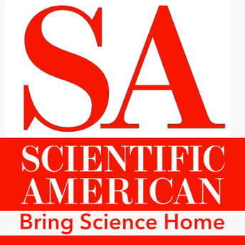 This is an image of the Scientific American icon and a link to its Bring Science Home site.
