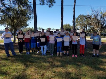 Year 2 Risk-taker Students of the Month