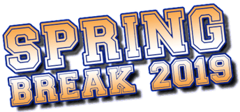 Spring Break April 1-5, 2019