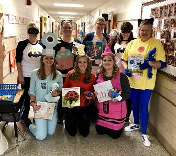 Teachers Dressing Up