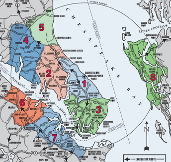 CALVEX:  The Calvert Cliffs Emergency Response Plan