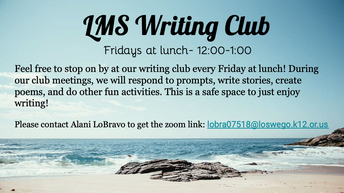LMS Writing Club