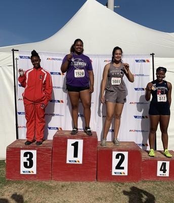 Alaina Diggs Wins Big at State Track!