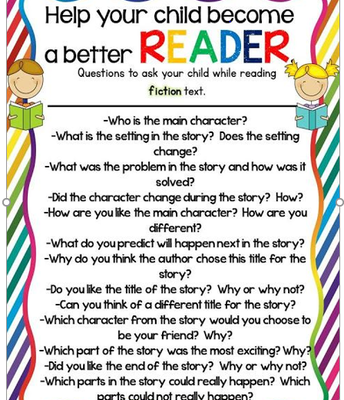 Becoming a better Reader: