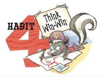 Leader in Me - Habit 4:  Think Win-Win