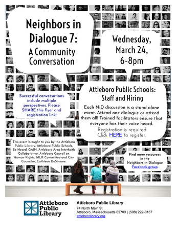 Neighbors in Dialogue 7:  A Community Conversation