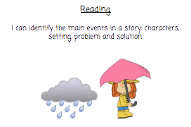 Problem and solution in a story
