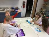 5th grade monochromatic painting