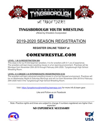 Tyngsborough Youth Wrestling
