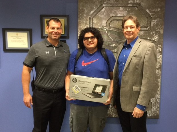CHS Positive Referral Winner - Omar Gonzalez