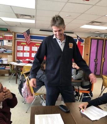 Mr. Gomariz, 4th Spanish Reading