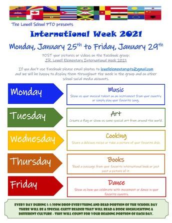 Virtual International Week