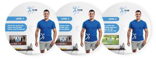 PK30 Fitnessprogramm Anleitung