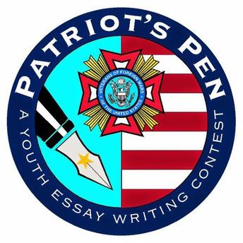 "Patriot's Pen Essay Contest - ""What is Patriotism to Me?"""