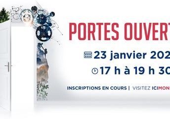 SOIRÉE PORTES OUVERTES - LE JEUDI 23 JANVIER