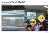 Kahoot! Ghost Mode by Cathy Yenca