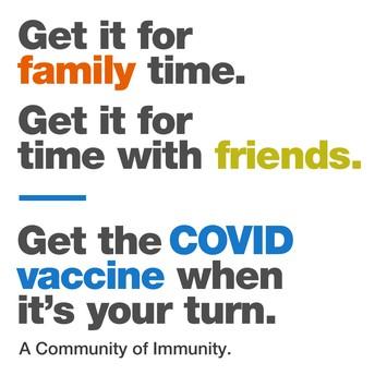 COVID-19 Vaccine |  GET IT
