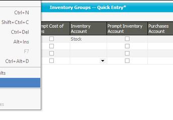 Data Entry Enhancements