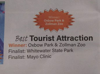Oxbow Best Tourist Attraction 2019!