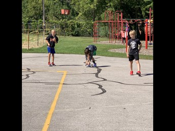 Playground fun, socially distant